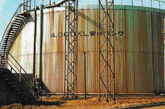 クリ各種タンク製作据付及び保温板金塗装工事(ステンレス製)