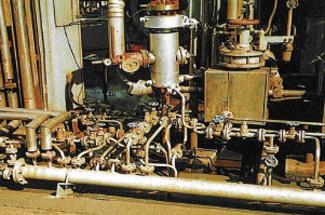 各種蒸気配管工事