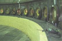 転炉煉瓦補修工事